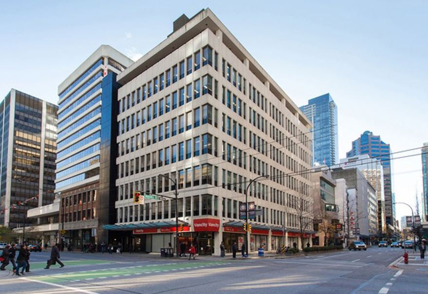 890 West Pender Street, Vancouver, British Columbia